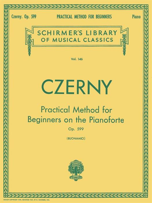 Czerny - Practical method for beginners Op.599