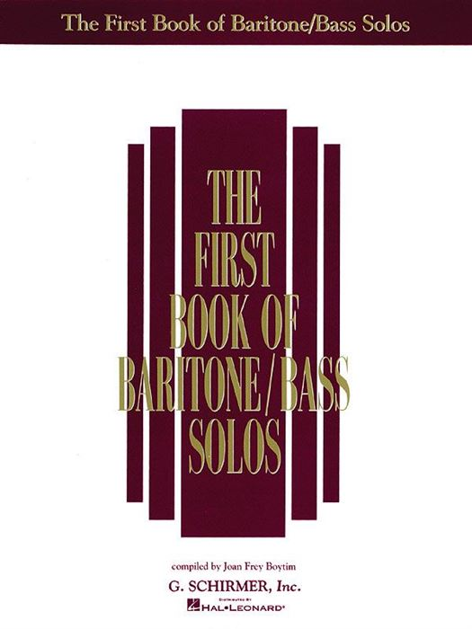 The First book of Baritone / Bass Solos