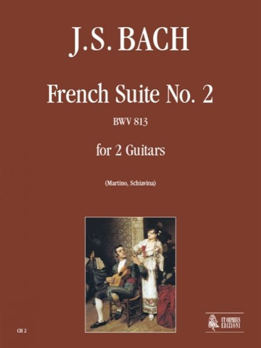 French Suite No. 2 BWV 813 for 2 Guitars