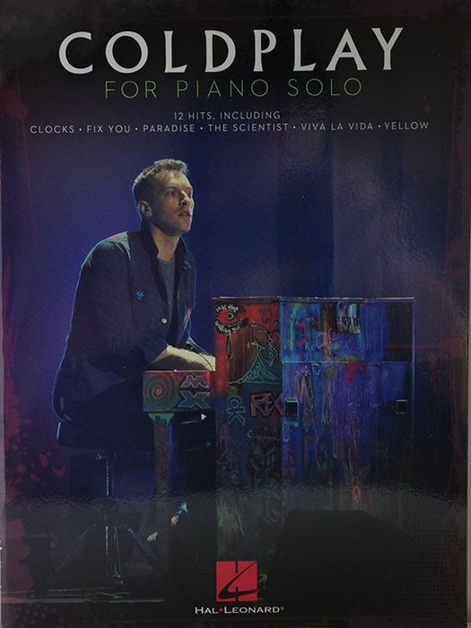 Coldplay for solo piano