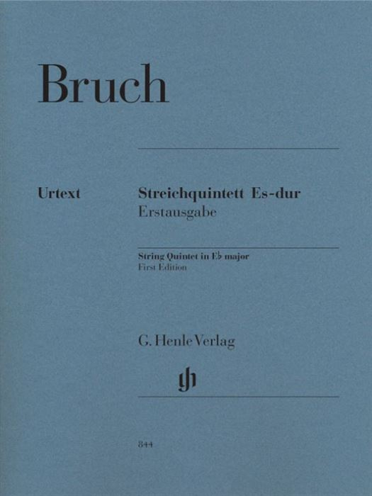 Bruch String Quintet E flat major