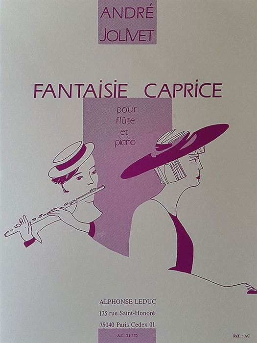 Jolivet - Fantasie Caprice for flute and piano
