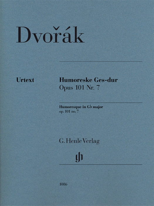 Dvorak - Humoresque G-flat Major Op.101 No.7