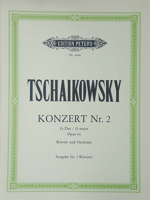 Tchaikovsky - Piano Concerto 2 Op. 44 G Major