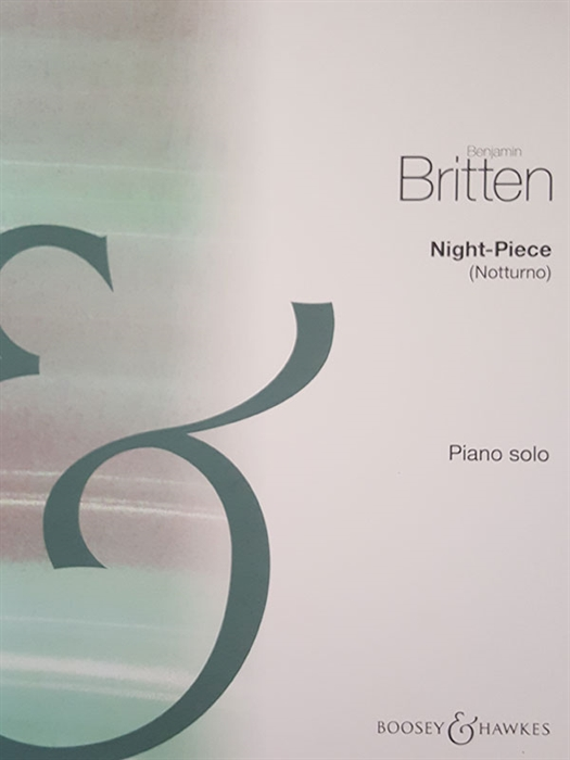 Britten - Night Piece (Notturno) for piano solo