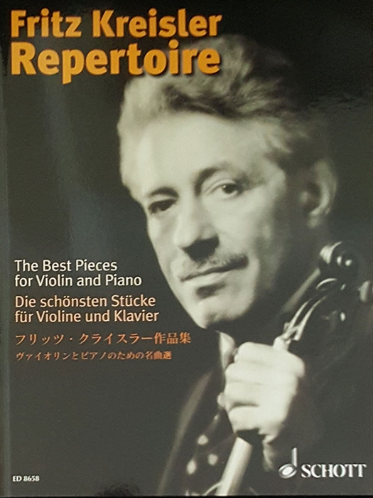 Fritz Kreisler - The Best Pieces for Violin and Piano Vol.1