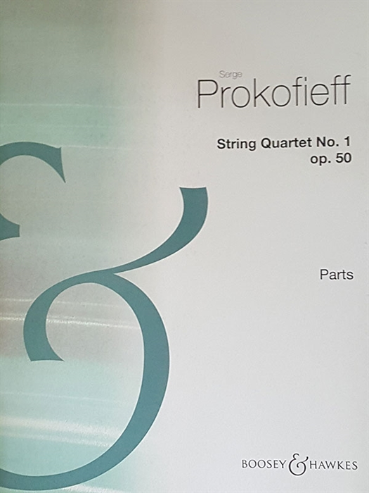Prokofieff - String Quartet No.1 Op.50 (parts)