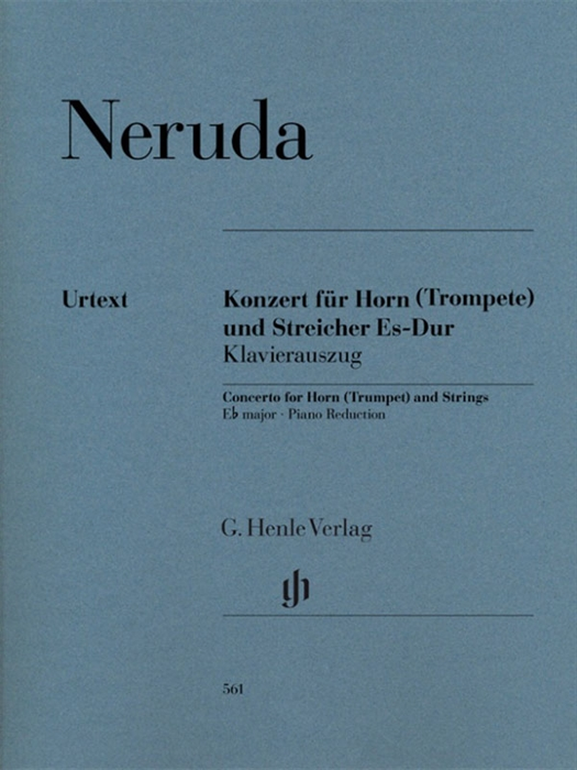 Neruda - Concerto for Horn (Trumpet) and Strings E-flat Major