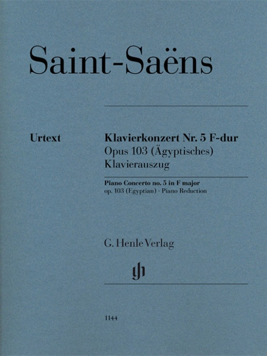 Saint-Saens Piano Concerto No.5 in F-Major (Egyptian)