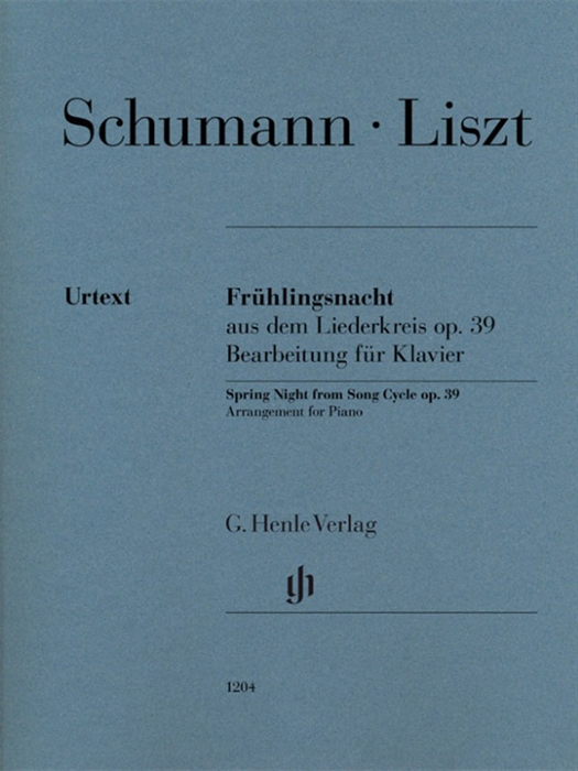 Schumann - Liszt - Spring Night from Song Cycle Op.39