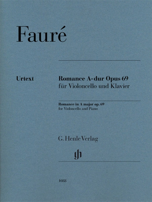Faure - Romance A major op. 69 for violoncello and piano