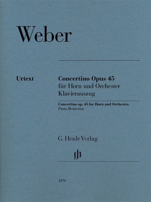 Weber - Concertino op. 45 for horn and orchestra