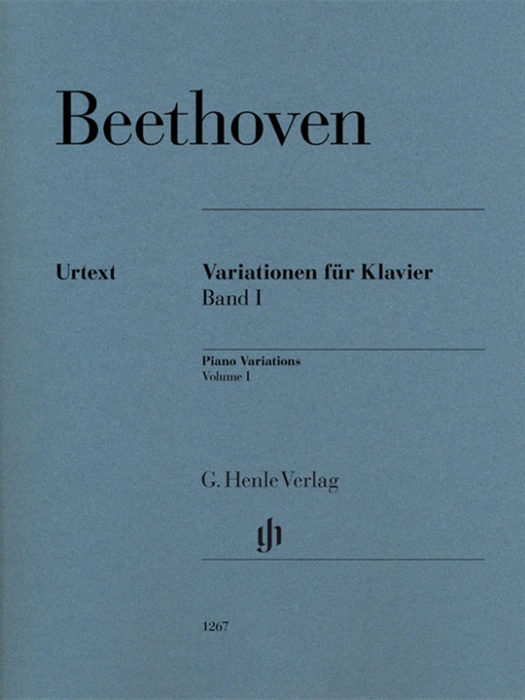 Beethoven - Piano Variations Volume 1