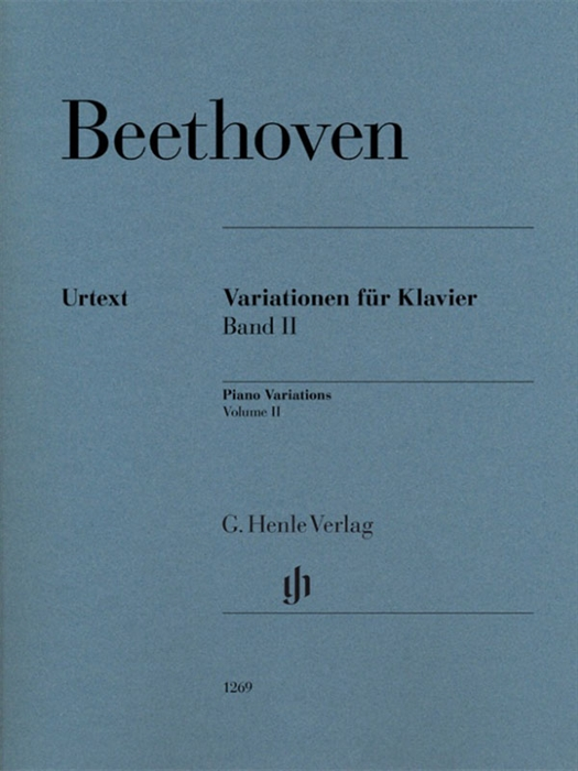 Beethoven - Piano Variations Volume 2