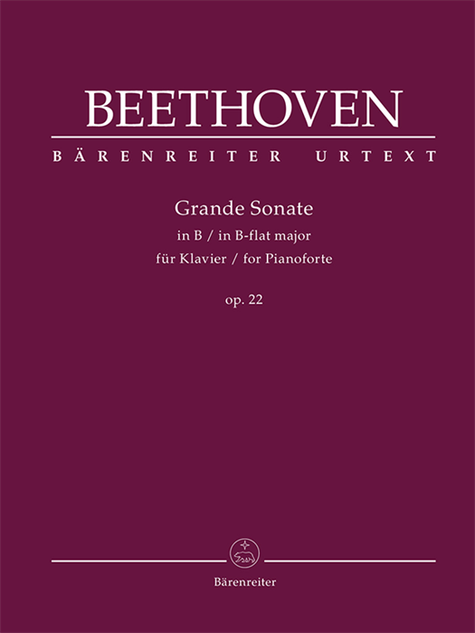 Beethoven - Grande Sonate for Pianoforte in B-flat major op. 22