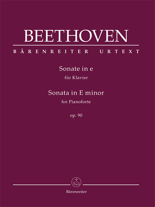 Beethoven - Sonata for Pianoforte in E minor op. 90