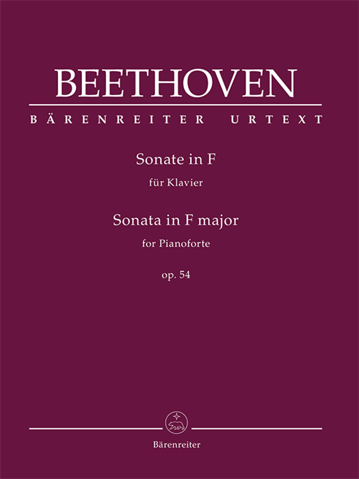 Beethoven - Sonata for Pianoforte in F major op. 54