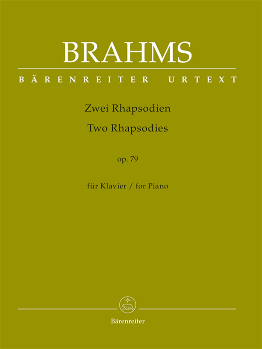 Brahms - Two Rhapsodies for Piano op. 79