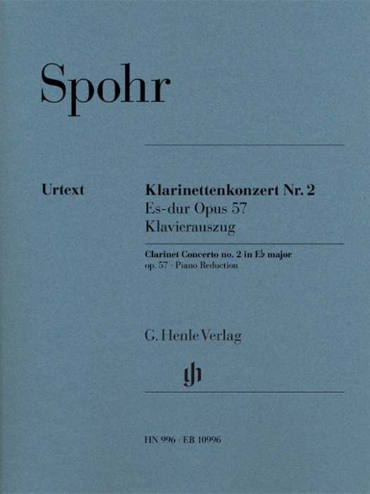Spohr - Clarinet Concerto No. 2 in E-Flat Major Op