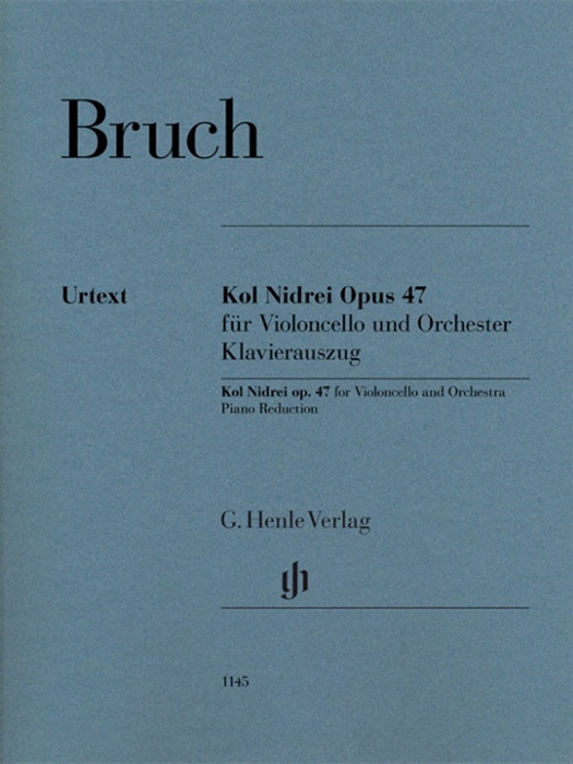 Bruch - Kol Nidrei op. 47 for Violoncello and Orchestra