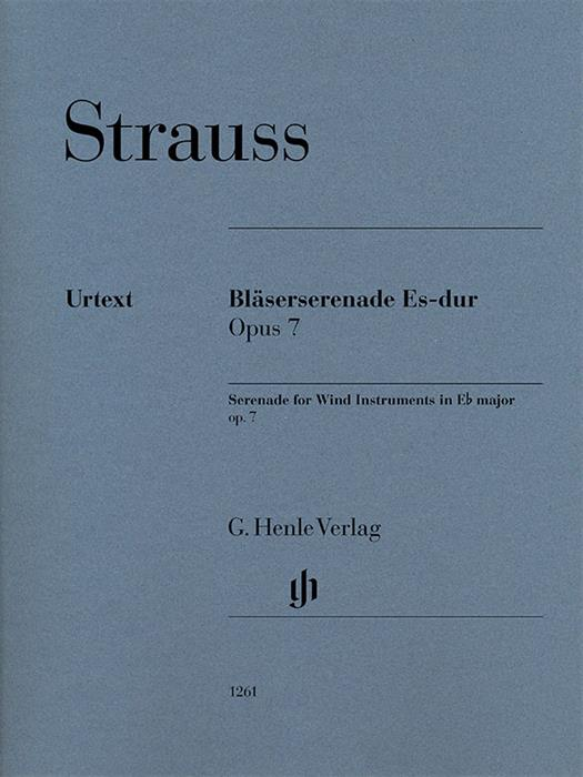 Strauss - Serenade for Wind Instruments in E-flat Major Op. 7